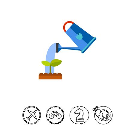 Watering Plant Icon