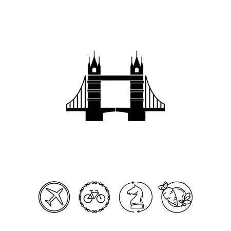 Tower Bridge Icon