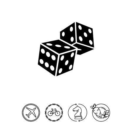 backgammon: Two Dice Icon