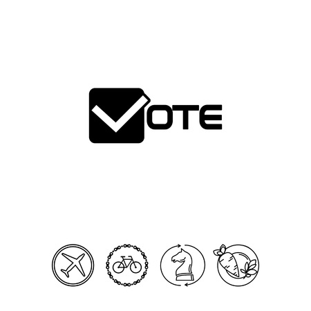 Vote simple icon