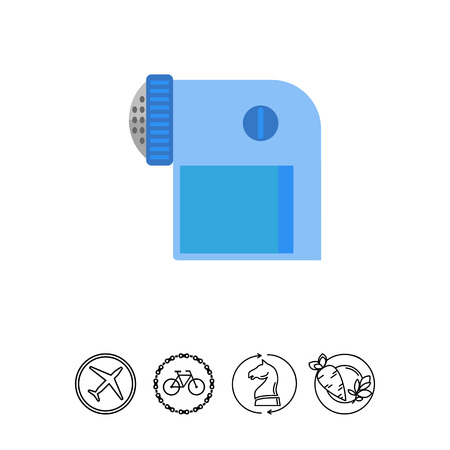lint: Pocket lint remover vector icon