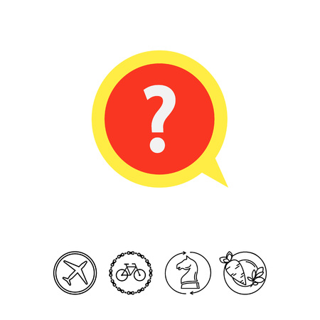 finding: Round info icon