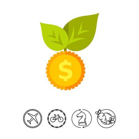 Seed Money Vector Icon