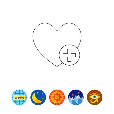 Add to Favorite Concept Icon