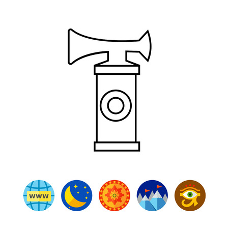Air Horn Icône Banque d'images - 79551058