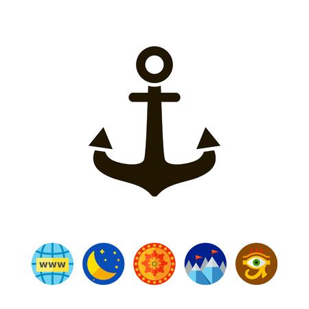 Anchor icon Reklamní fotografie - 79551098
