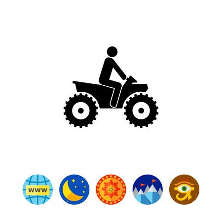 icon: ATV Simple Icon