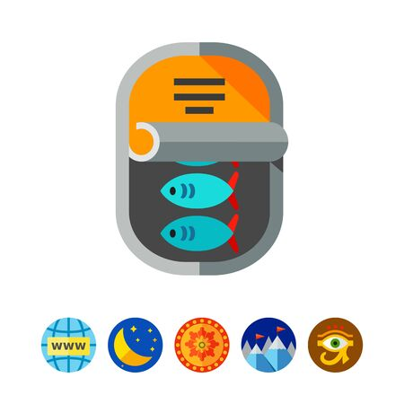 tinned: Canned Fish Icon