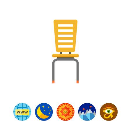 comfort classroom: Chair icon