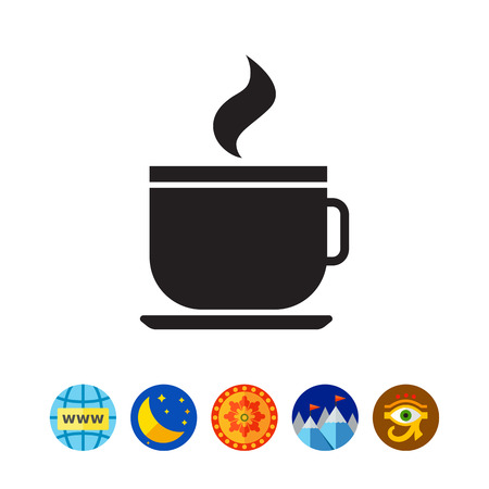 Icon of hot drink cup