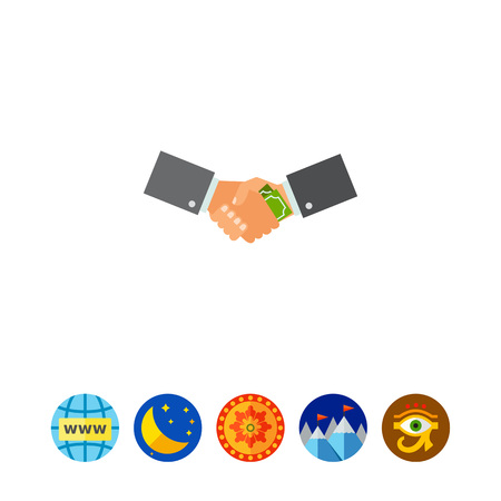 Corruption Concept Icon