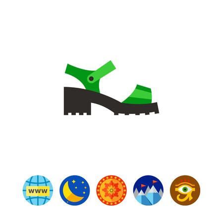 Chunky Sandal Icon