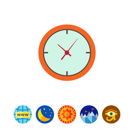Clock icon Illustration