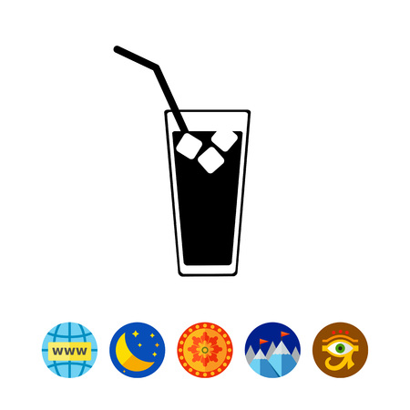 gulp: Cold Drink with Ice Icon