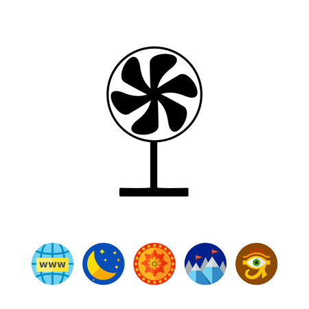 Fan on Stand Icon