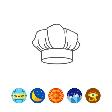 nobody: Hat of chef Illustration