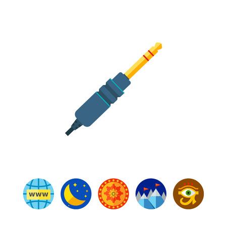 interconnect: Jack plug icon