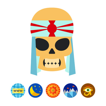 kamikaze: Kamikaze Vector Icon Illustration