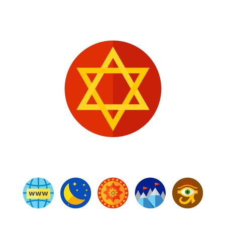 Judaism Star Icon