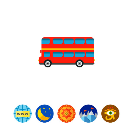 excursion: London Bus Icon