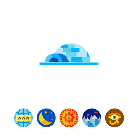 Igloo Concept Icon