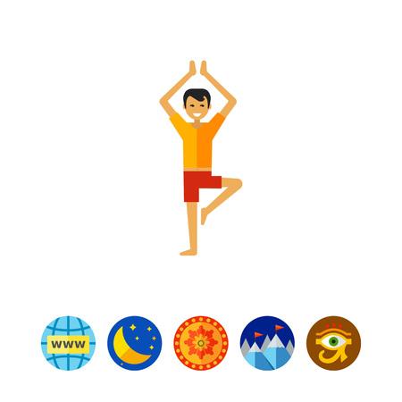 Hombre que hace yoga 2