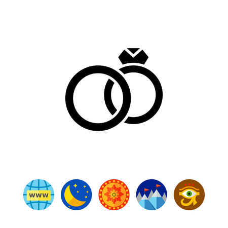 reciprocity: Marriage simple icon