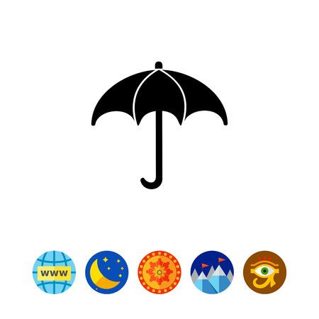 Meteorology simple icon Illustration
