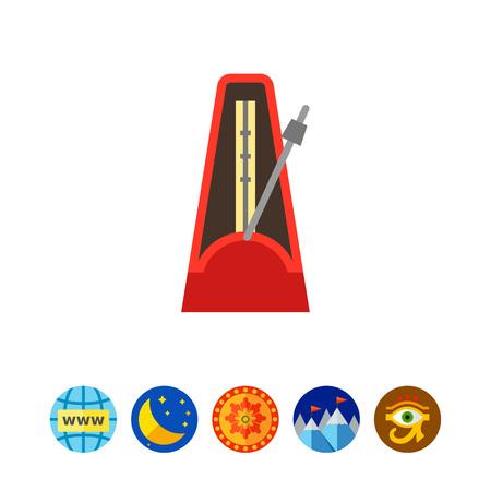 cíclico: Icono del metrónomo
