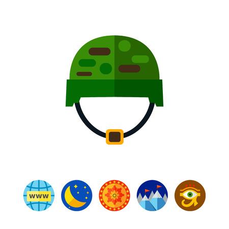 arming: Military Helmet Icon