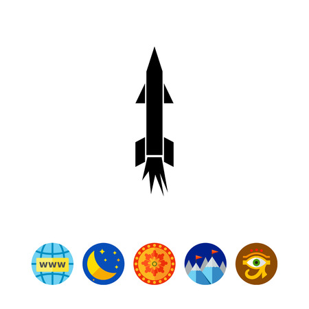 군사 미사일 아이콘