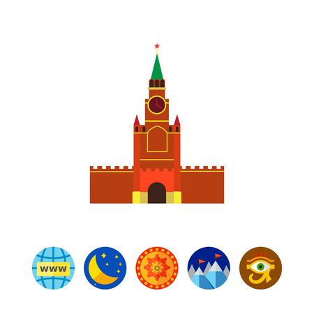 Moscow Kremlin building