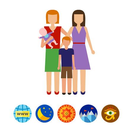 nontraditional: Non-traditional family