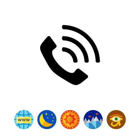 Phone simple icon