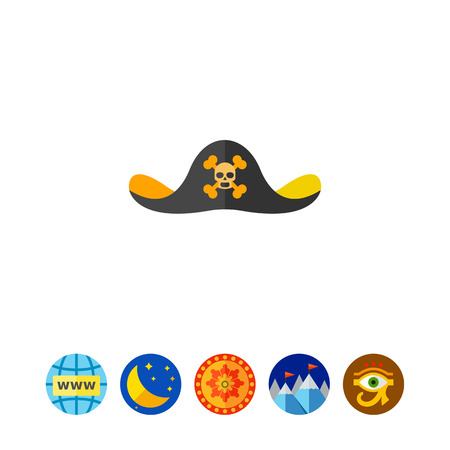 Pirate Hat Icon