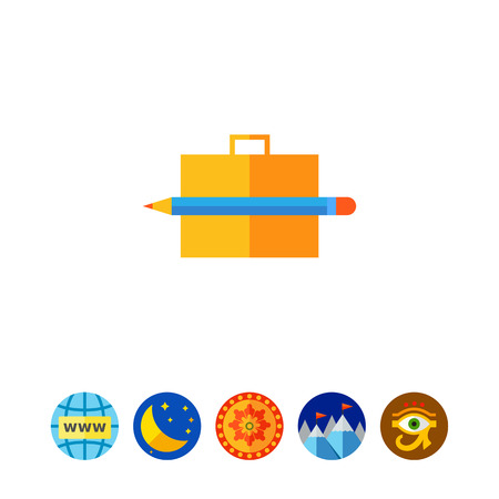 paper case: Portfolio icon