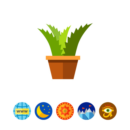 Potted flower icon