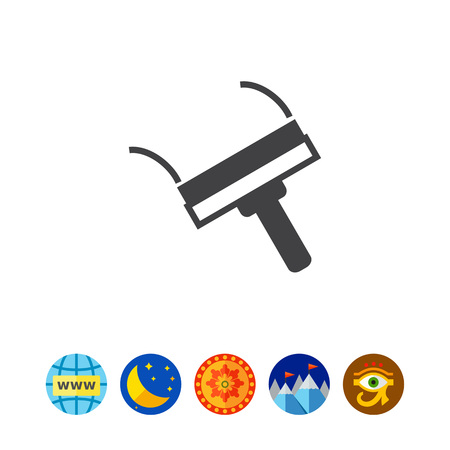 to mend: Putty spattle icon