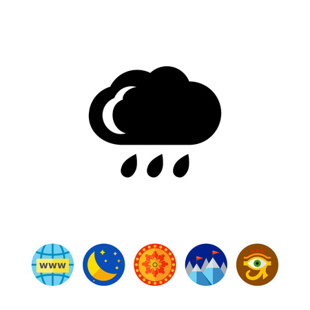 overcast: Rainy weather
