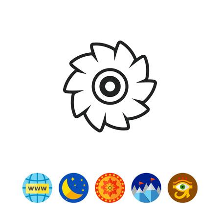 Icon of circular saw disc