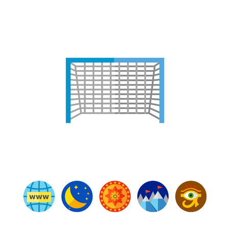 pastime: Soccer Goal Icon