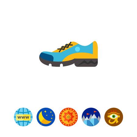 running: Sport Shoe Icon 3