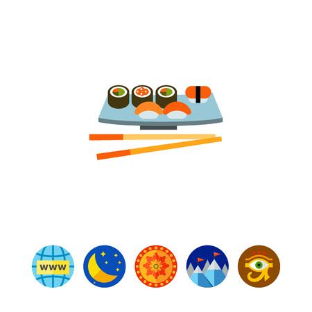 prawns: Sushi Set Icon