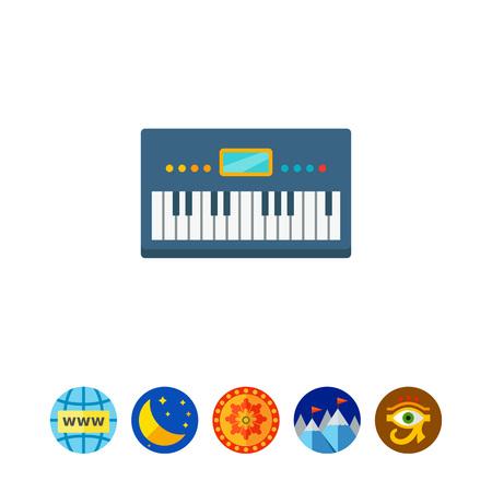 logo music: Synthesizer icon
