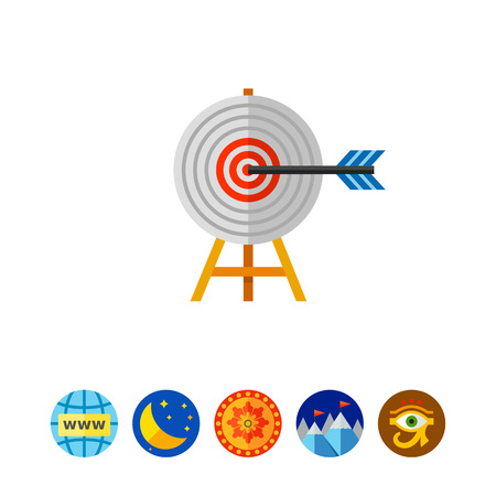 effectiveness: Targeting Concept with Arrow Icon