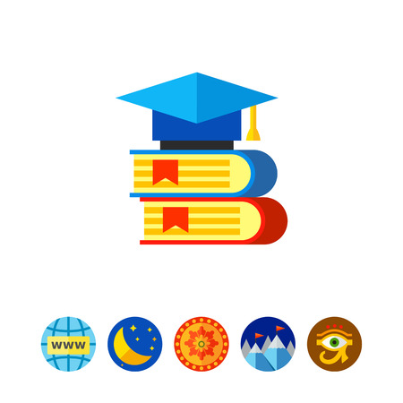 university application: Science Books Icon