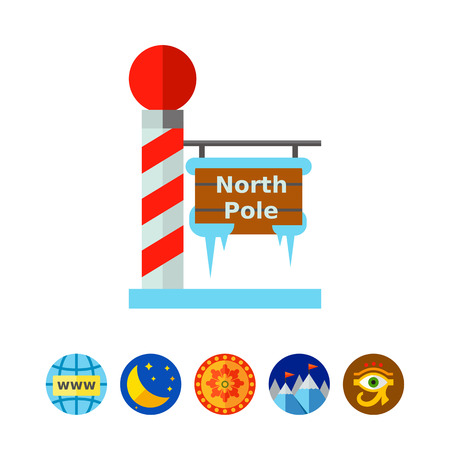 stripped: North Pole Tablet Icon