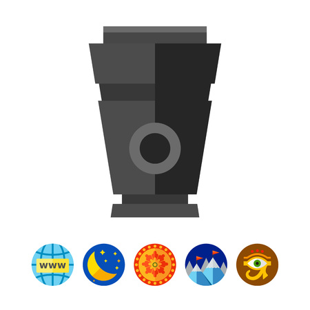 urn: Funeral urn icon