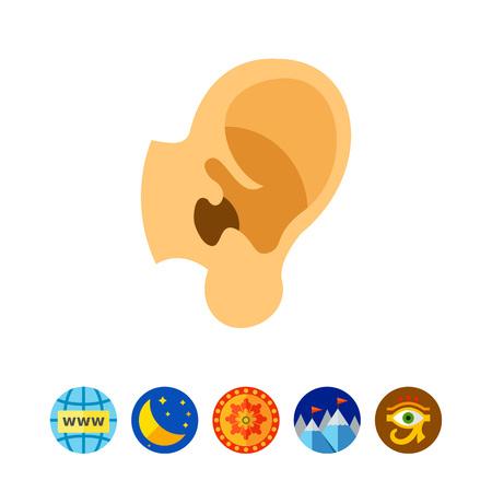 Human ear icon