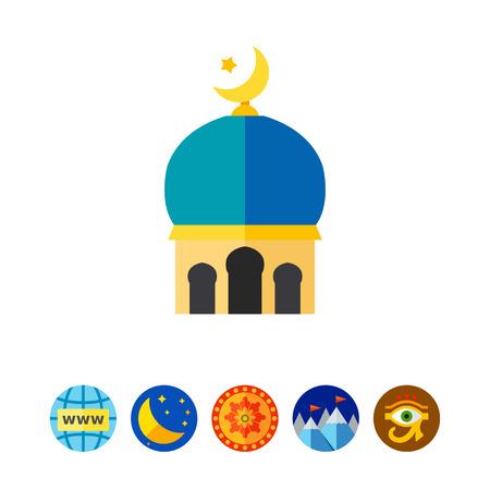 Islamic sign icon